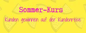 Sommer Kurs Kundenreise