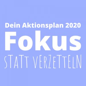 Aktionsplan Fokus
